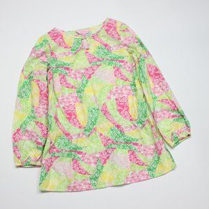 Lilly Pulitzer Bright Tunic Pullover Sz 8-10